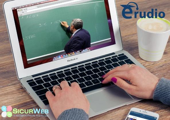Erudio è il sistema per la Gestione e l'erogazione della Formazione (Aula, E-learning, Blended, Videoconferenza) in modalità CLOUD