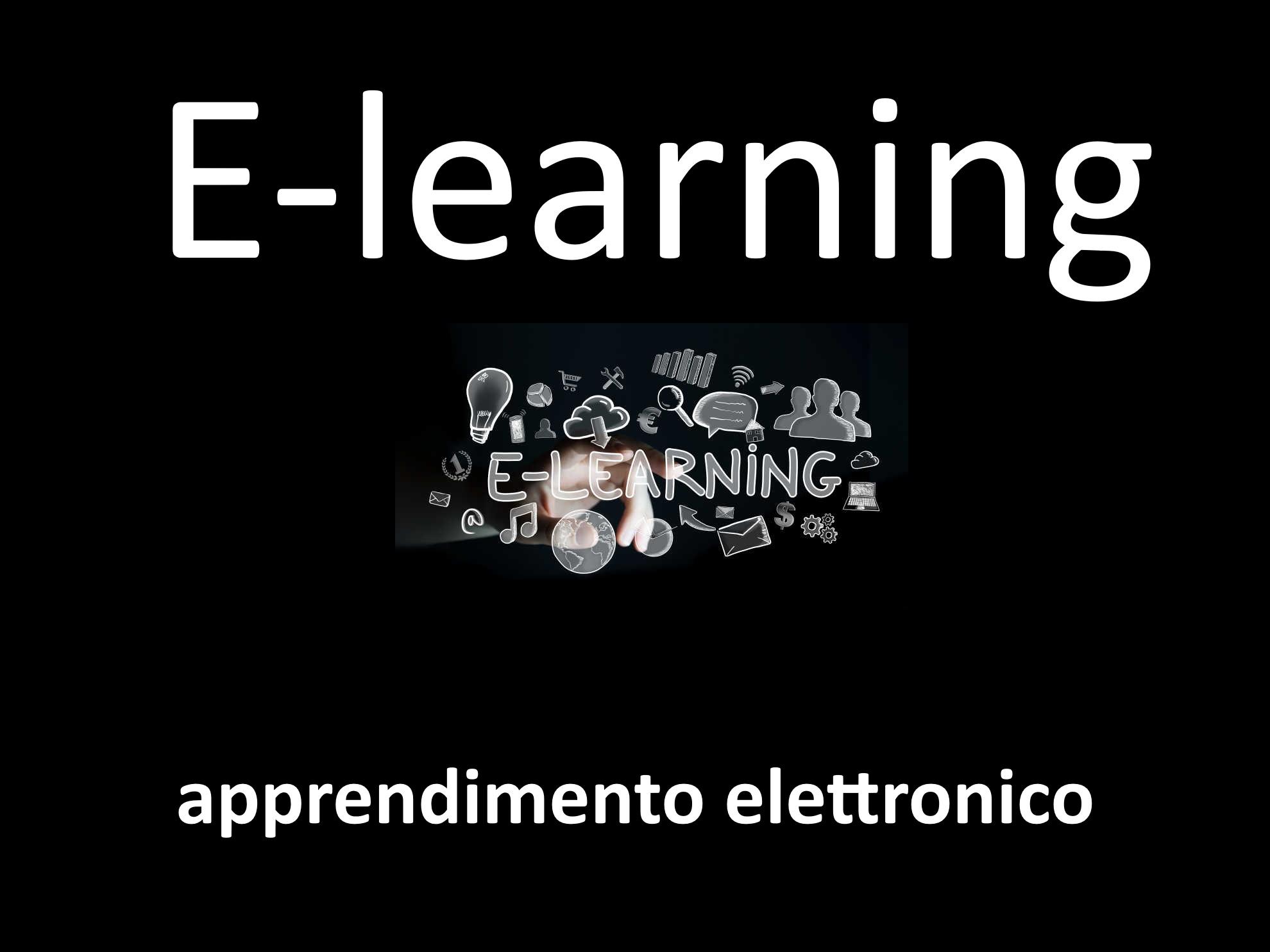 E-Learning: il nome inglese completo è (apprendimento elettronico)